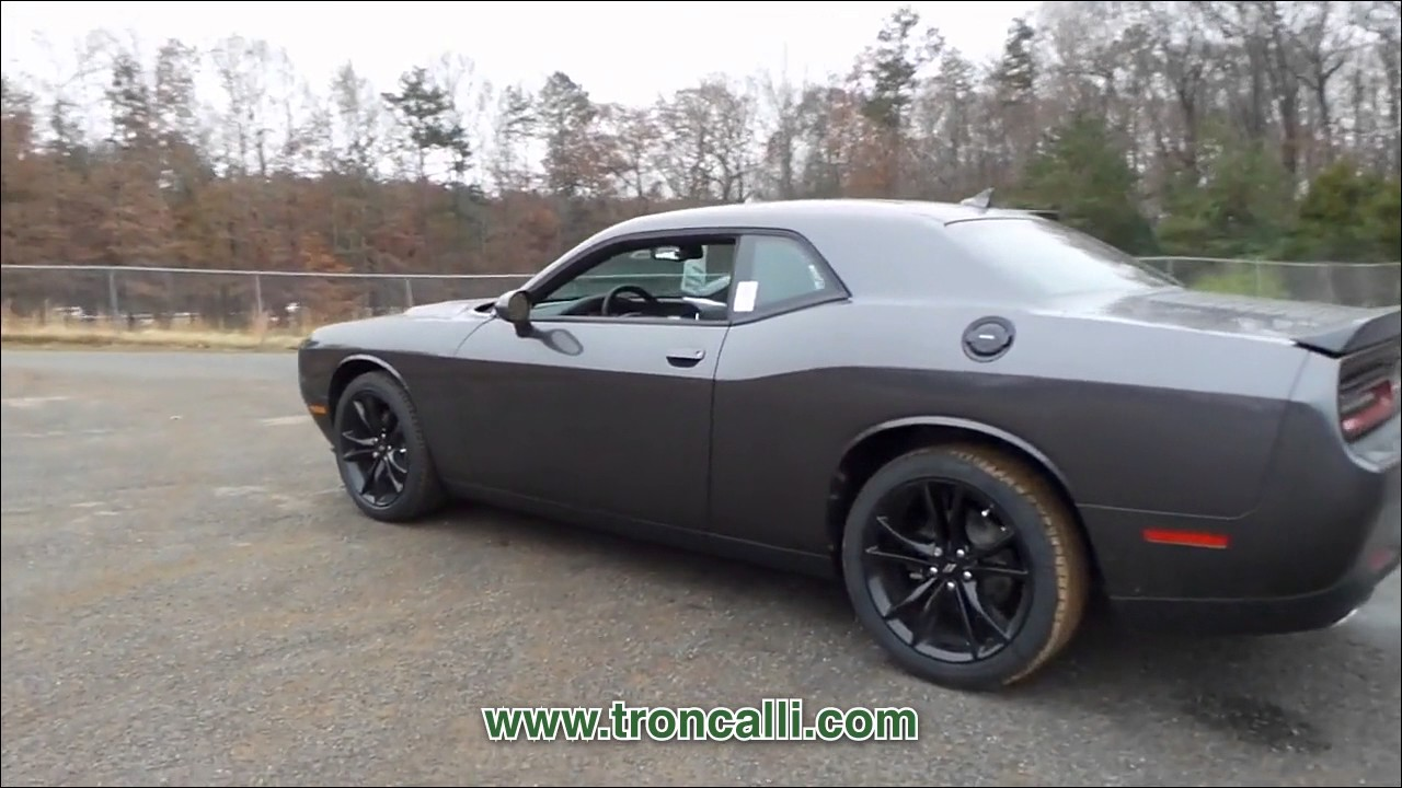 new 2017 dodge challenger sxt plus coupe at troncalli cjd. Black Bedroom Furniture Sets. Home Design Ideas