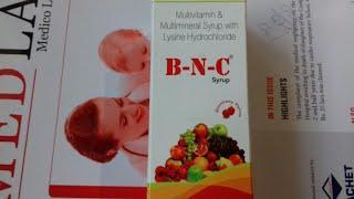 B-N-C Syrup (अपने पिचके गाल को फुलाये ) use and side effects full hindi reviews company aglowmed pha