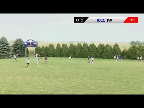 Iowa Central Womens Soccer: Tritons vs Iowa Western (9/18/2019)