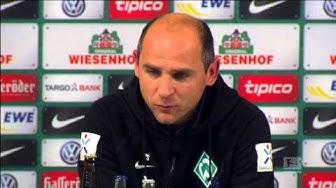 "Viktor Skripnik: ""Tabellenplatz hat uns echt genervt"" | SV Werder Bremen - SC Paderborn 07 4:0"