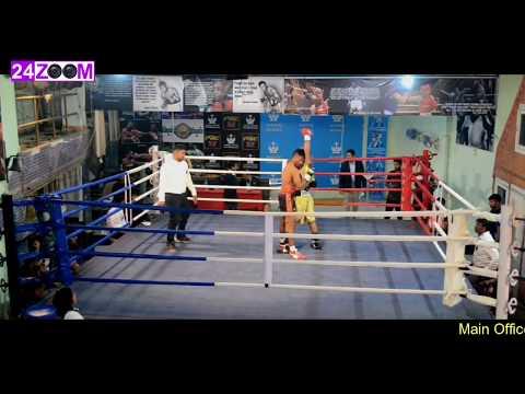 Marine Centre Pro Boxing / Upgradation Bout / Dharamveer Singh vs Abhilash Raut
