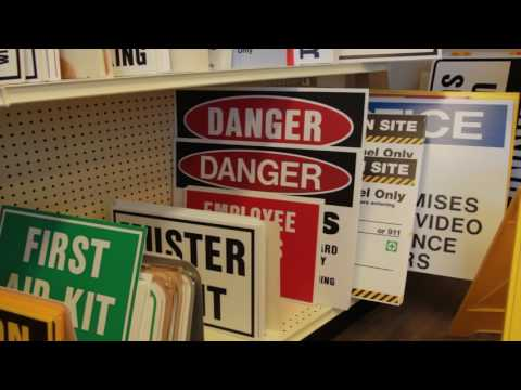 Western Safety Sign - Sign Manufacturing & Digital Printing AD