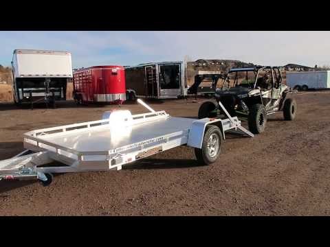 RZR Hauler!  Super Light Weight Aluma Utility Trailer