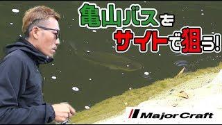 【バス釣り】抜打!#6 初夏の亀山湖 ボイル サイト バイトシーン!!