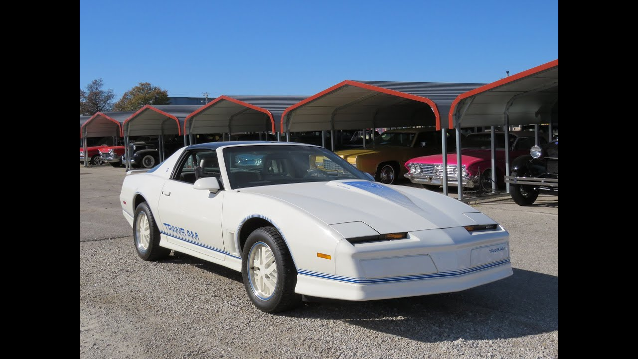1984 pontiac firebird trans am 15th anniversary edition w 17k miles full tour start up youtube 1984 pontiac firebird trans am 15th anniversary edition w 17k miles full tour start up