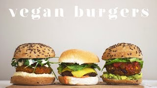VEGAN MADE EASY | HOW TO MAKE BURGERS