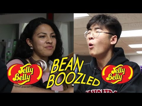 Vanier Does the Bean Boozled Challenge - Gross Jelly Beans!