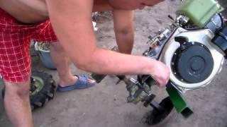Repeat youtube video Транспортные колеса на мотоблок из тормозных барабанов