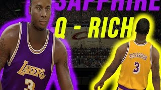 NBA 2K17 My Team - Sapphire Quentin Richardson Review