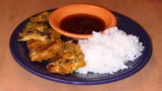 5 Spice Grilled Chicken Recipe - Ga Ngu Vi Huong