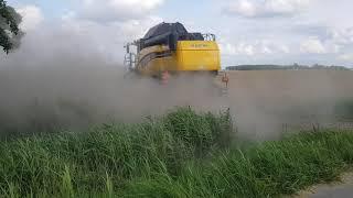 Graan oogsten Ternaard 2019