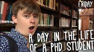 Library Porn and Understanding Theory | Day in the Life of a PhD Student: Friday | PhD Vlog