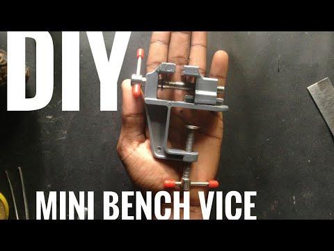Amazing mini metal  vice for diy