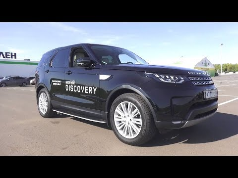 2017 Land Rover Discovery 5 HSE Td6. Start Up, Engine, and In Depth Tour.