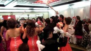 001 2 فيديو دخوليه حفل زواج ذاكر وديع انيتا اياد في سان دييكوا خاص كرملش يمي