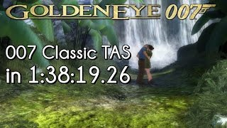"[TAS] GoldenEye: 007 (Wii) ""007 Classic Difficulty"" in 1:38:19 (RTA Timing)"