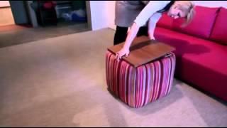 видео : Бескаркасная мебель - удобно, комфортно, практично.  : Интерьеры : Строительный Комплекс АТР