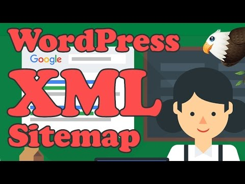 Add an XML Sitemap to WordPress and submit to GOOGLE