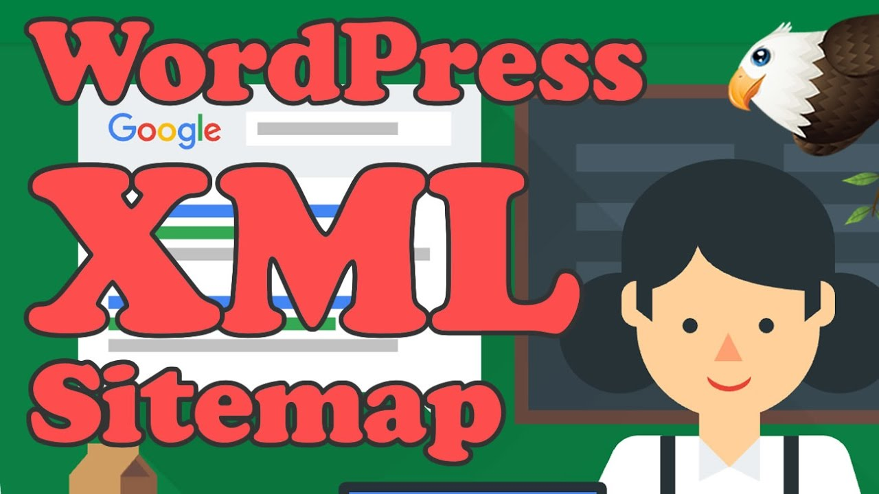 add an xml sitemap to wordpress and submit to google youtube