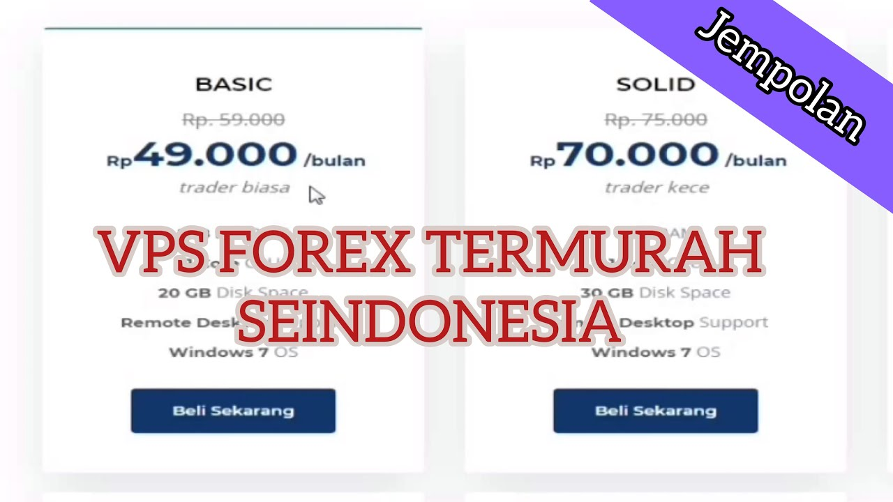 VPS Forex Kualitas Dahsyat Harga Rakyat - Social VPS