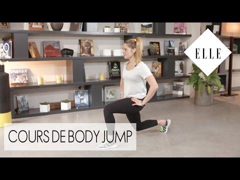 Cours de Body Jump avec Marine Leleu┃ELLE Fitness