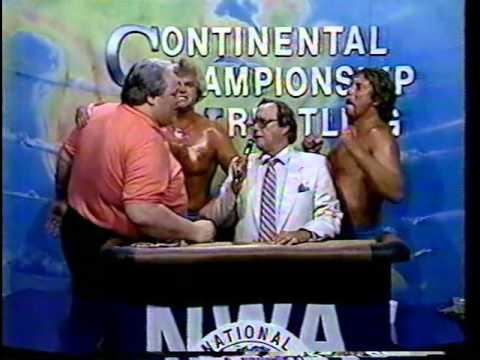Steve Armstrong & Tommy Rich vs. Robert Fuller & Jimmy Golden (5/19/86) Featuring Dr. Love