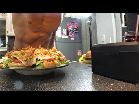 What happened to my butt cheek and epic turkey club meal