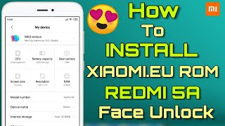 Install Custom Rom Redmi Note 5A