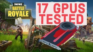 Benchmark de GPU de Fortnite Budget (Benchmark de Fortnite Budget) 17 cartas gráficas probadas en Fortnite Battle Royale