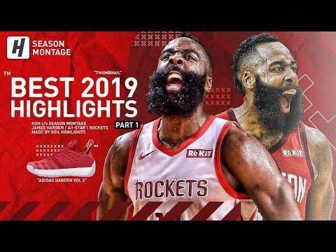 James Harden BEST Highlights & Moments from 2018-19 NBA Season BEAST Mode Part 1