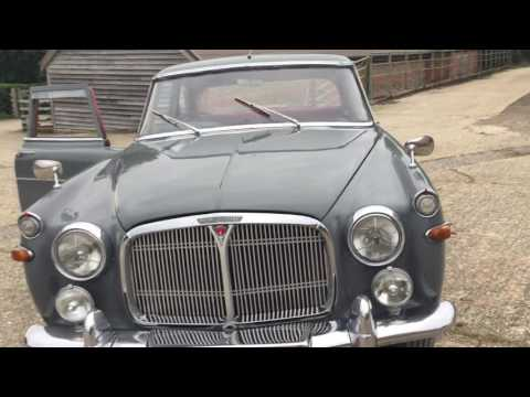 Rover P5 Mark 1 1959 Walk Around - Bradley James Classics