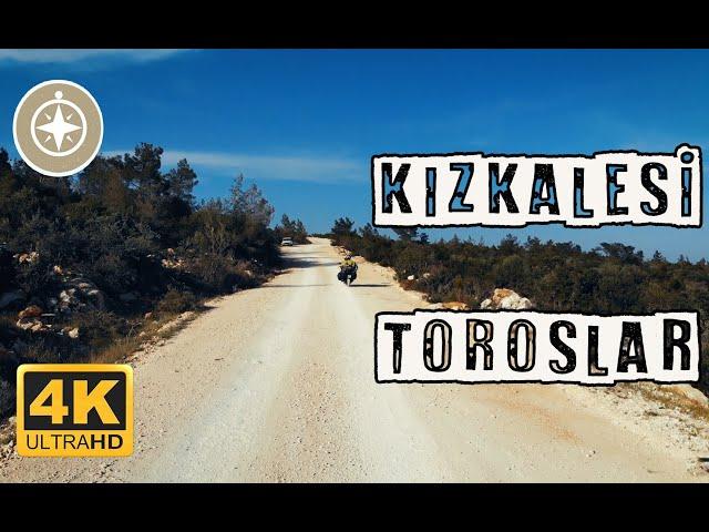Kızkalesi, Taşucu, Mersin   Orta Toroslar [Drone 4K]