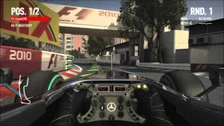 F1 2010 (PC): McLaren Mercedes - Monaco GP [HD]