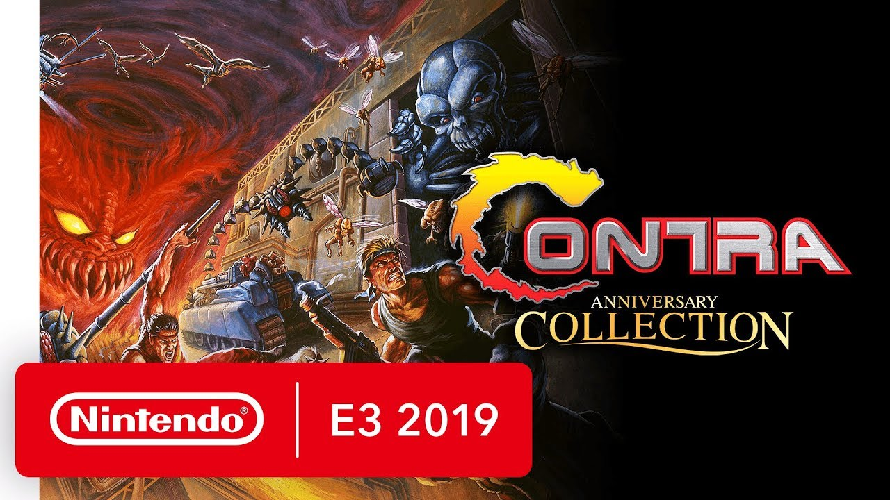 Contra Anniversary Collection - Nintendo Switch Trailer - Nintendo E3 2019