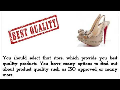 c12873d06616 Know Everything About Red Bottom Shoes - YouTube