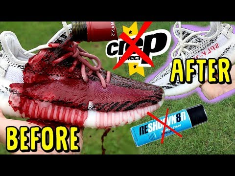 HOW TO CLEAN YOUR SNEAKERS FOR FREE.. EXPOSING SNEAKER CLEANING COMPANIES!
