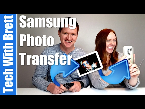 How to WiFi Direct Photo Transfer - Quick Connect