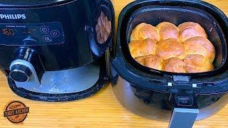 How to make Dinner Bread Rolls in an Air Fryer recipe 4K