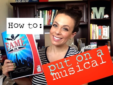 how to put on a middle school musical {part 1}