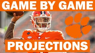 Clemson 2021 Game By Game Win Probabilities