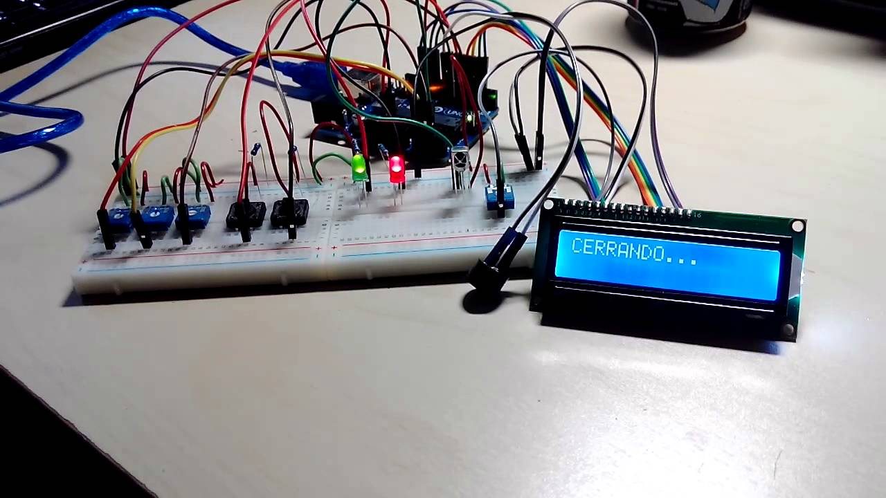 Proyecto arduino sistema de seguridad youtube