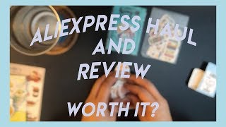 ALIEXPRESS HAUL AND REVIEW | WAS IT WORTH IT? | WriteOn_