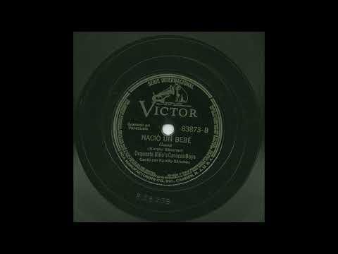 Orquesta Billo's Caracas Boys - Nació Un Bebé - Victor 83873-B