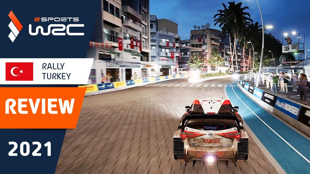 Highlights / Rally Turkey REVIEW - eSports WRC 2021