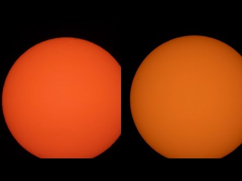 Sunday Afternoon Sunspots - Quick Look