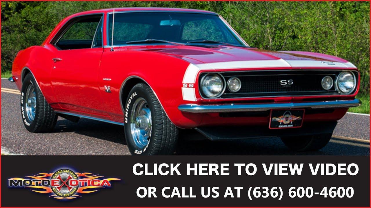 1967 Chevrolet Camaro || For Sale - YouTube