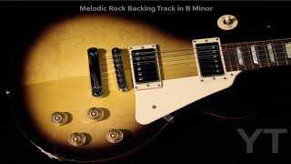 Melodic Rock Backing Track B Minor