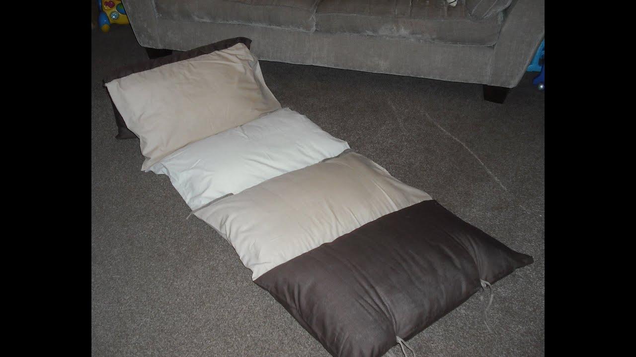 How to make a Kids Floor Cushion - YouTube