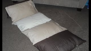 How to make a Kids Floor Cushion