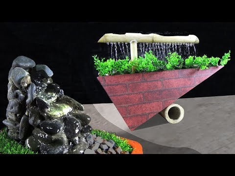 3 BEST HOMEMADE WATER FOUNTAIN IDEAS